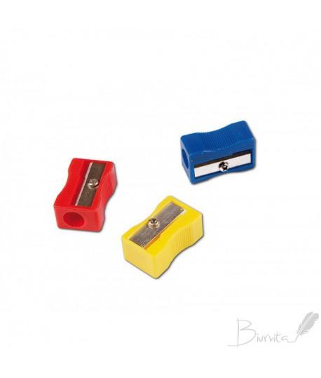 Drožtukas CONCORDE plastikinis, įv. spalvų