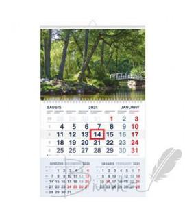Pakabinamas kalendorius 2022 m