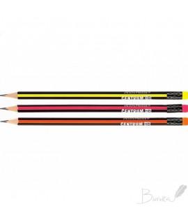 Pieštukas su trintuku HB CENTRUM neoninių sp. įp.50