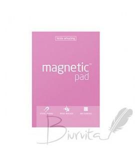 Magnetiniai lapeliai TESLA AMAZING A5 rožiniai, 50 lapų