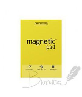 Magnetiniai lapeliai TESLA AMAZING A3 geltoni, 50lapų