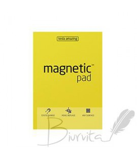 Magnetiniai lapeliai TESLA AMAZING A4 geltoni, 50lapų