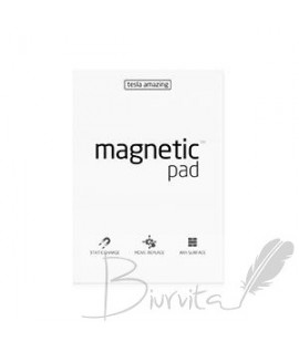 Magnetiniai lapeliai TESLA AMAZING A4 balti, 50 lapų
