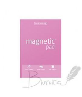Magnetiniai lapeliai TESLA AMAZING A4 rožiniai, 50lapų