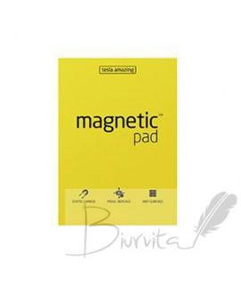 Magnetiniai lapeliai TESLA AMAZING A5 geltoni, 50 lapų