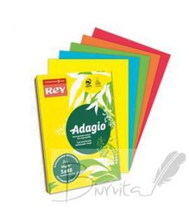 Popierius ADAGIO A4 80 g. 200 l. ryškios spalvos