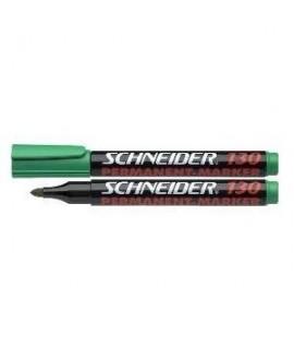 Permanentinis žymeklis SCHNEIDER 130, apvalia galvute, žalias