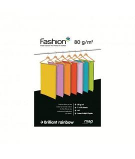 Popierius Fashion A4 80 g. 70 l. ryškių spalvų