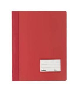 Segtuvėlis DURABLE DURALUX A4, praplatintas, raudonas