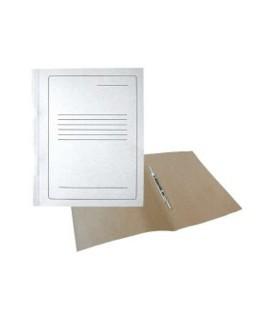 Segtuvėlis A4, kartoninis, baltas, su spauda