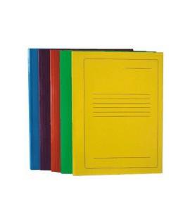 Segtuvėlis A4, kartoninis , su spauda, geltonas