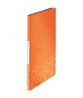 Aplankas LEITZ WOW su 20 įmaučių, oranžinis