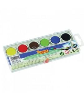 Akvareliniai dažai JOVI, 6 spalvų