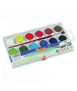 Akvareliniai dažai JOVI, 12 spalvų