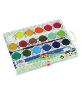 Akvareliniai dažai JOVI, 18 spalvų