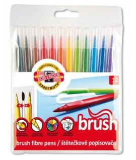 Flomasteriai akvareliiai KOH-I-NOOR 12 spalvų