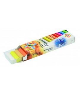 Plastilinas KOH-I-NOOR, 10 ryškių spalvų