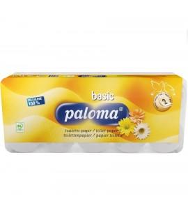 Tualetinis popierius PALOMA, 2-jų sluoksnių, 10 rul.