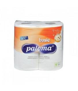 Tualetinis popierius PALOMA 2-jų sluoksnių, 4 rul.