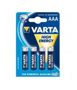 Elementas šarminiai VARTA LR03 AAA, įpak. 4vnt.