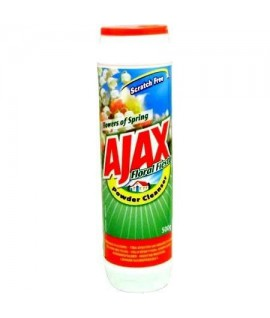 Šveitimo milteliai AJAX gėlių kvapo, 500 g