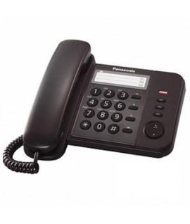 Telefonas PANASONIC KX-TS 520, juodas