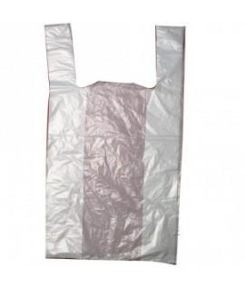 Pakavimo maišeliai su rankena 40/10 x 65 , 25 mikr. 100 vnt. 1,6 kg