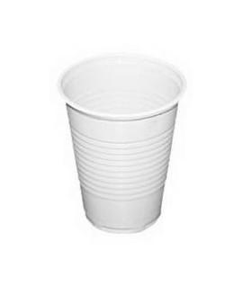 Vienkartinės stiklinės šaltiems gėrimams 200ml 100 vnt