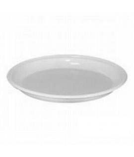 Vienkartinės lėkštės 17 cm, baltos, 100 vnt