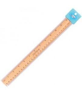 Liniuotė CENTRUM, medinė, 30 cm