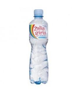 Šaltinio vanduo ŽALIA GIRIA , gazuotas, 0,5 l