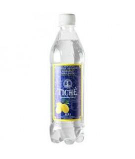 Natūralus mineralinis vanduo TICHĖ citrinų skonio, gazuotas, 0,5 l