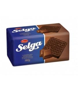 SELGA CHOCOLATE šokolado skonio sausainiai, 180 g