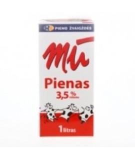 Pienas MŪ 3,5% , 1l