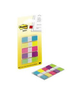Žymekliai INDEX 683 -5CB 5 spalvos, 11,9 x 43,2 mm