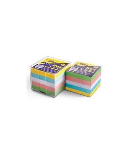 Lapeliai užrašams FORPUS , 85 x 85 mm, 800 lapelių, spalvoti
