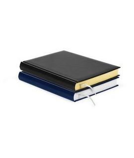 Darbo kalendorius FORPUS DATEBOOK , A5, be datų, juoda, geltoni lapai
