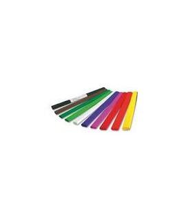Krepinis popierius šviesiai žalias