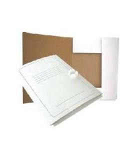 Segtuvas kartoninis A4, baltas, su spauda, su raišteliais (SEG A1)