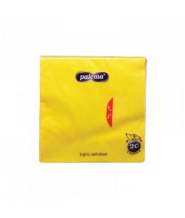 Servetėlės PALOMA EXCLUSIVE 33 x 33 cm geltonos, 2 vnt.