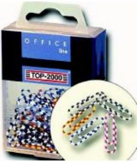 Sąvaržėlės EURO ZEBRA , 50 mm, 23 vnt. plast. dėžutėje