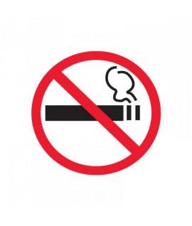 """Lipnus ženklas APLI 114 x 114 mm, """"Draudžiama rūkyti"""""""