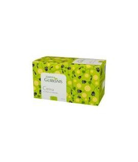 """Arbata """" Gamtos gurkšnis"""" citrina su imbieru ir šalaviju, 20 pak. po1,5 g."""