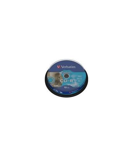 Kompaktinis diskas Verbatim CD-R, įpakavime 10 vnt.