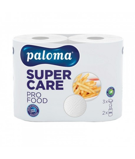 Popierinis rankšluostis SUPER CARE PRO FOOD, 2 vnt.