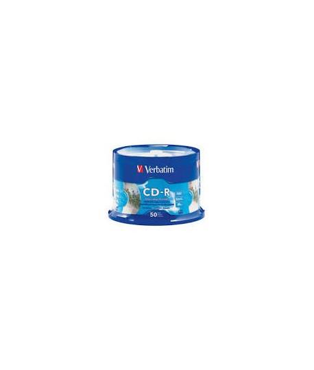 Kompaktinis diskas Verbatim CD-R, įpakavime 50 vnt.