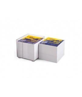 Lapeliai užrašams FORPUS dėžutėje 9 x 9 cm, balti, 800 lapelių