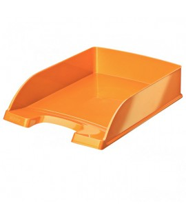 Dokumentų lentynėlė LEITZ PLUS WOW, oranžinė