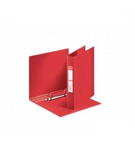 Segtuvas ESSELTE A5, 2 žiedų, raudonas