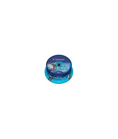 Kompaktinis diskas Verbatim CD-R Printable, įpakavime25 vnt.